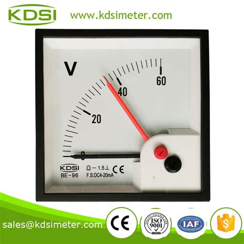 Voltmeter Analog voltmeter for car dc voltmeter analog dc panel meter