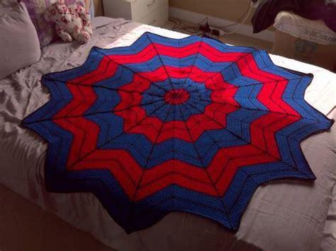 crochet pattern spiderman blanket spiderman blanket crochet