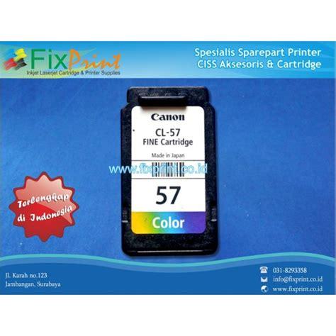 Cartridge Canon Cl 57 Color harga jual cartridge bekas canon cl 57 color printer