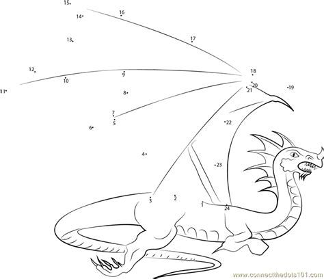 dot to dot dragon printables flying with the dragons dot to dot printable worksheet