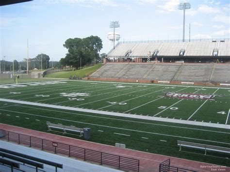section 8 troy al troy memorial stadium section 110 rateyourseats com