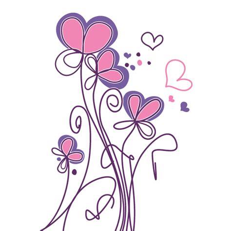 imagenes de flores y corazones infantiles flores para colorear pintar e imprimir