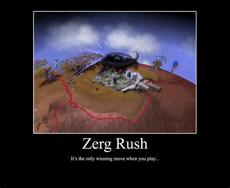Rush Meme - image 104585 zerg rush know your meme
