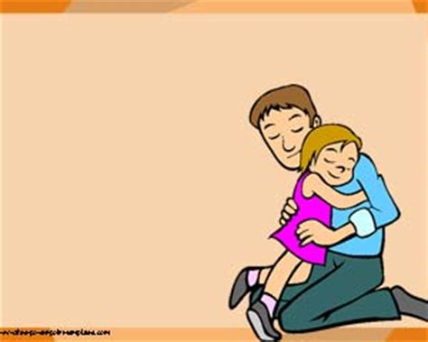 Free Family Four Powerpoint Template Family Powerpoint Templates