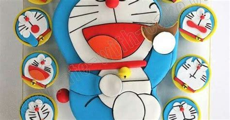 Food Doraemon doraemon decorated food cake birthday cakes and food