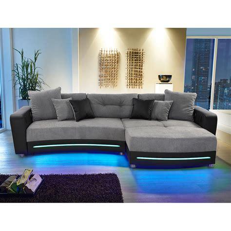 laredo sofa laredo sofa laredo sofa schwarz mit led und soundsystem