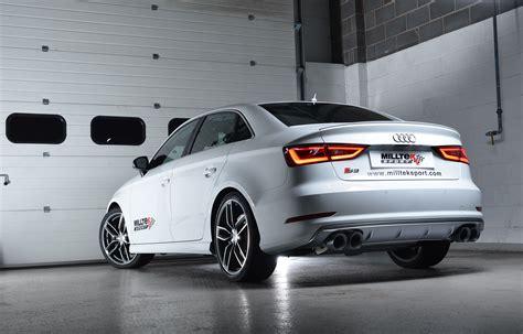 Milltek Exhaust Audi S3 by Audi S3 Sedan With Milltek Sport Exhaust