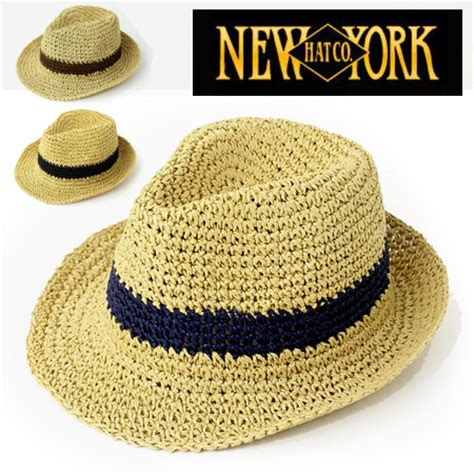 newyorkhat new york hat crochet fedora paper hat 7142