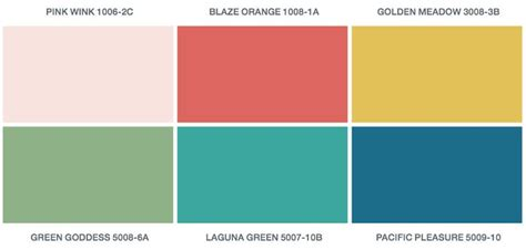 2016 paint color of the year valspar s 2016 paint colors of the year offer a palette