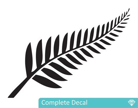 Sticker Quotes For Walls silver fern your decal shop nz designer wall art