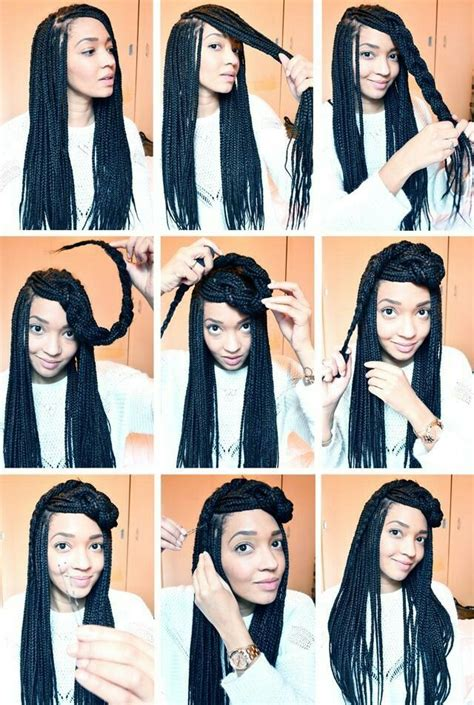 different styles or ways to fix human hair best 25 single braids hairstyles ideas on pinterest