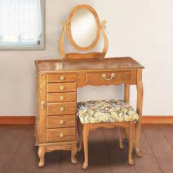 Jewelry Armoire Vanity Set Purchase The Jewelry Armoire Vanity Nostalgic Oak For