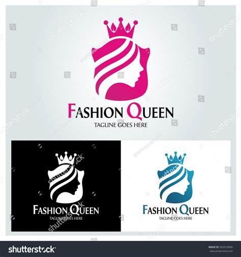 fashion logo design illustrator fashion logo design template stock vector