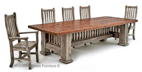 Farm Dining Room Table by Reclaimed Barnwood Dining Table Mission Style Dining