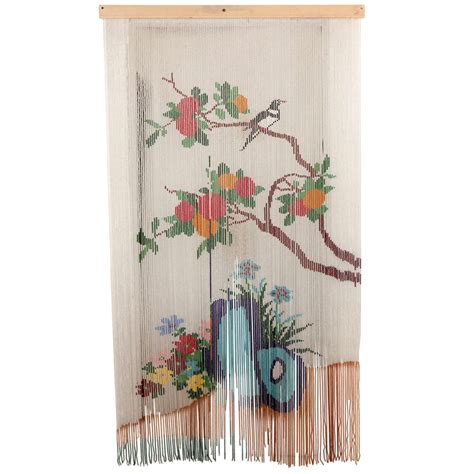 hanging door curtain mid century beaded hanging door curtain screen at 1stdibs