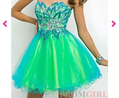 blue green prom dresses formal dresses