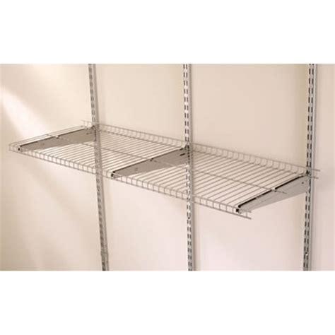 Rubbermaid Pantry Kit by Rubbermaid Fasttrack Garage Wire Shelf 1200mm Silver