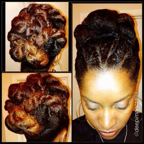 flat twist updos flat twist updo super cute natural hair styles pinterest