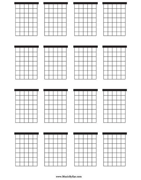 printable blank ukulele chord chart download large blank guitar chord chart for free tidyform