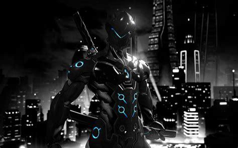 download film genji 4 download wallpapers 4k genji cyber warrior overwatch