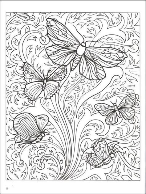 Erlina Butterfly borboletas coloring pages