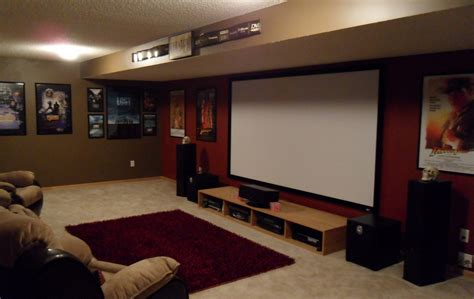 basement photo friday basement theater small basement home theater ideas design installing