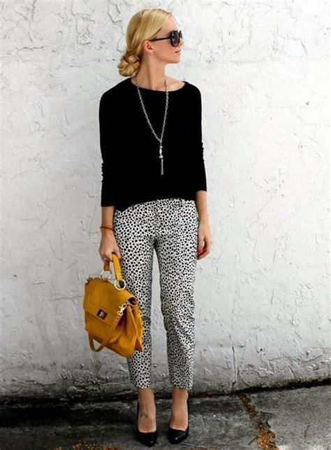 how to wear printed pantstrousers fall2013 pinterest 13 perfect casual work outfit ideas pretty designs