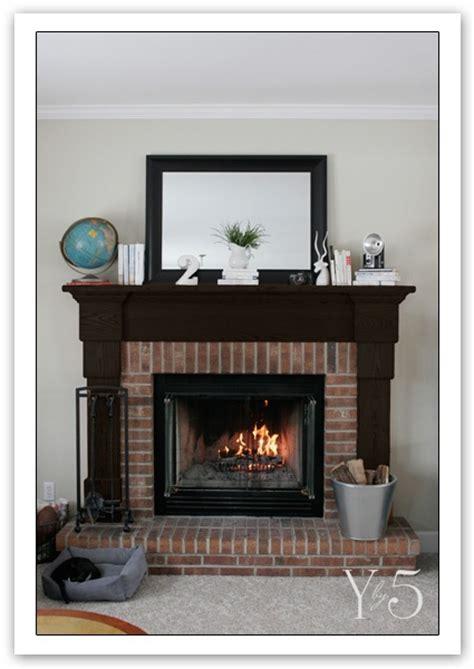 black fireplace mantle paint it black fireplaces mantels