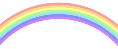 Rainbow clip art png image gallery yopriceville high quality images and transparent png free