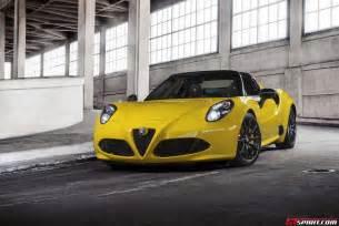 Alfa Romeo 4c Spider Official 2015 Alfa Romeo 4c Spider Gtspirit