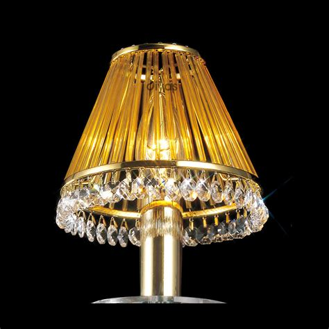 L Shades Lighting by Diyas Lighting Il30500 Gold Plated Glass
