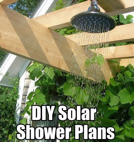 Solar Shower Diy by Green Power More Build Outdoor Solar Shower