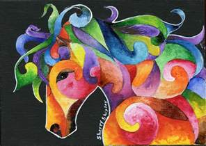 many colors a of many colors painting by sherry shipley