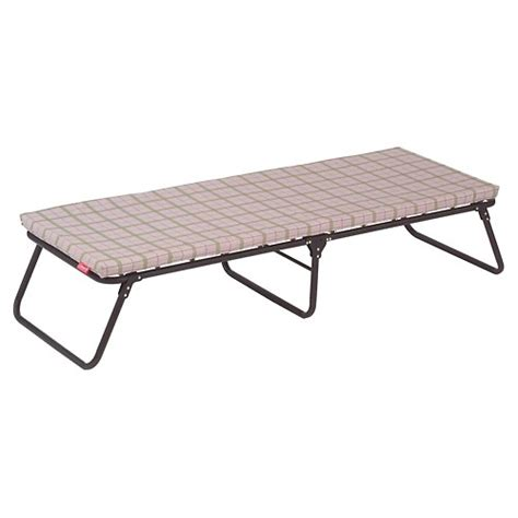 temporary bed cing station coleman big sky portable bed folding cot