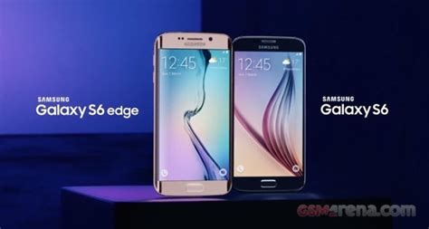 Samsung S6 Gsmarena samsung galaxy s6 and edge preorder available on ebay uk