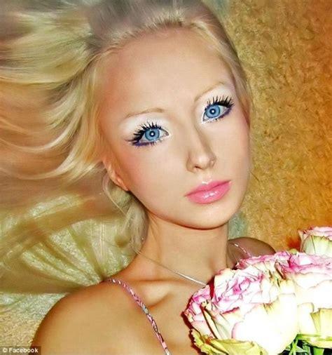 design doll to look like you real life girl who looks like barbie valeria luckyanova