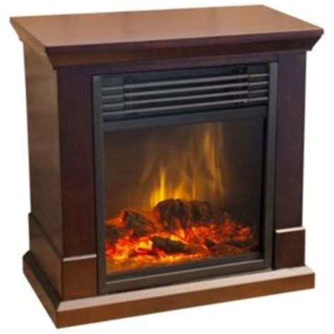 Brown Electric Fireplace by Dunbar Compact Electric Fireplace Brown