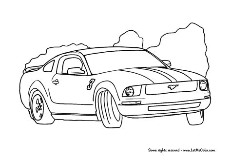 coloring pages of ford cars coloring supercars page 3 letmecolor
