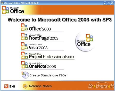 Ms Office 2003 by Free Microsoft Office 2003 Service Pack