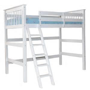 Bunk Loft Beds White Humboldt Loft Bed Children S Furniture Loft
