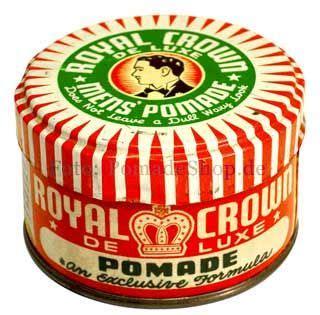 Pomade Royal Crown 38 best images about vintage tins pomade lids on