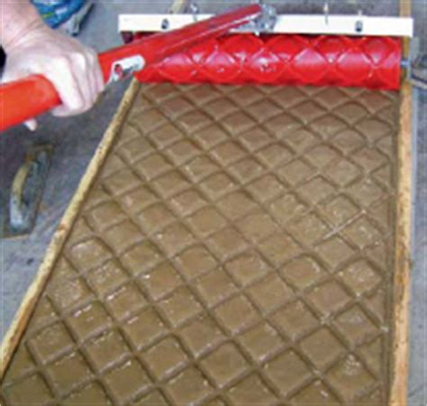 pattern roller for concrete must haves in concrete sts and texture mats concrete