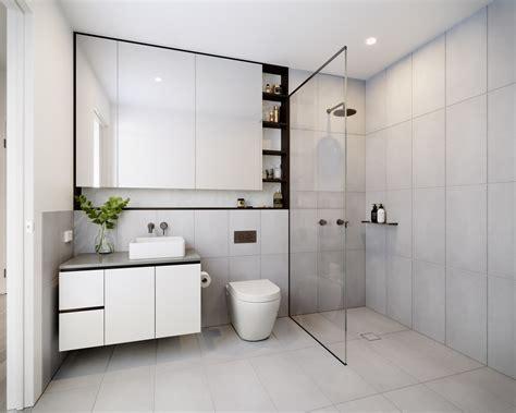 sleek modern bathroom designs youll fall  love