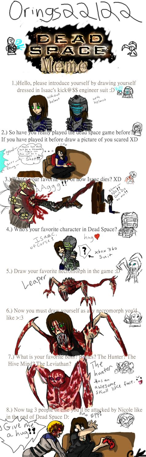 dead space meme by sikura12 on deviantart