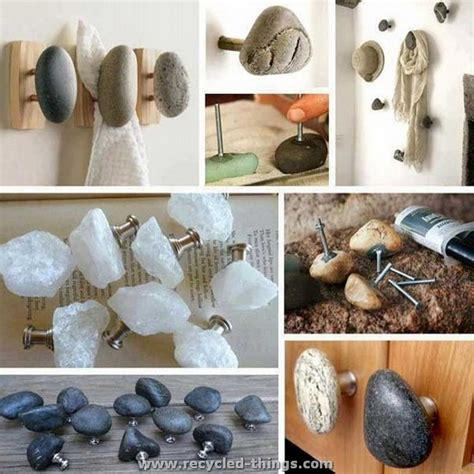 home stones decoration ideas for home decorating with stones recycled things