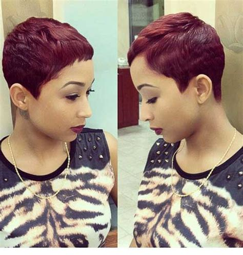 hair weave for pixie cut 20 best red pixie hair short hairstyles 2017 2018