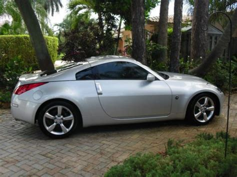 performance nissan pompano buy used 1 owner 2008 nissan 350z grand touring in pompano