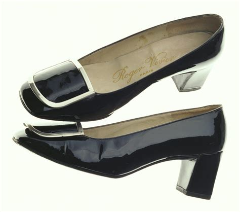 Bakers Footwears Roger Vivier Inspired Buckle Pumps by Pumps Roger Vivier Ca 1967 Patent Leather With Buckle