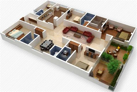home plan design 4 bhk 2700 sq ft 4 bhk 4t apartment for sale in vaishnavi