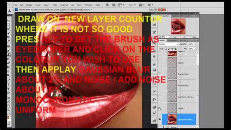 photoshop glossy lips tutorial 1 youtube photoshop glossy lips tutorial 3 youtube